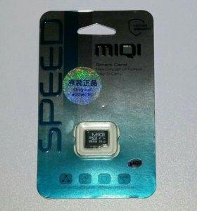 Карта памяти Micro SD (микро сд) 64 гб, class 10!