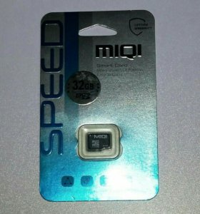 Карта памяти Micro SD (микро сд) 32 гб, class 10!