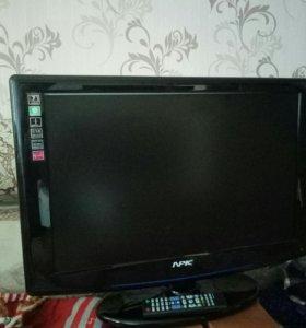 телевизор жк NPK диогональ65см