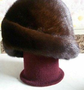 шапка норковая