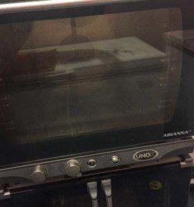 Печь конвекционная Unox Arianna и расстоечный шкаф