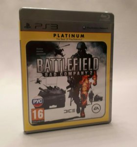 Игры для Sony PS3 BF bad company 2