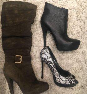 Продам сапоги, полуботинки, туфли