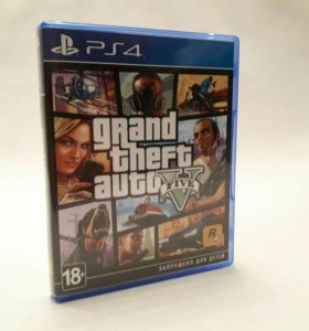 Игры для Sony PS4 GTA 5