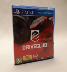 Игры для Sony PS4 Drive club