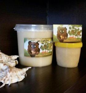 Мед рапсовый - разнотравье
