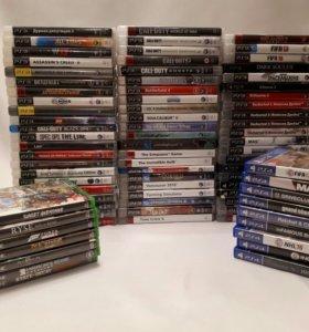 Много игр для Sony PS3, PS4, Xbox