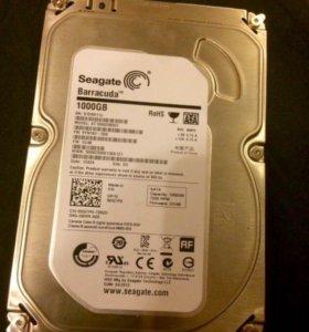 Жёсткий диск 1000 Гб, для компа