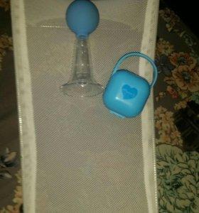 Подставка для купания, контенер для пустышки,молок
