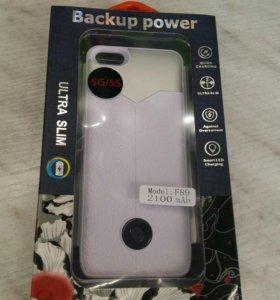 Чехол-аккумулятор на Iphone 5/5s/5c/Se