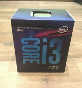 Процессор Intel I3 8100 для Z370