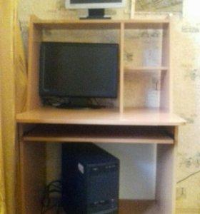 Компьютер + два монитора