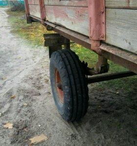 Прицеп к трактору с документами в хорошем состояни