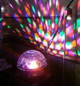 Музыкальный светодиодный шар