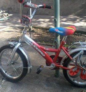 велосипед детский от3 лет до 7 лет