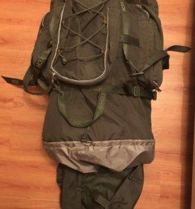 Рюкзак трекинг на 70 литров, торг возможен.