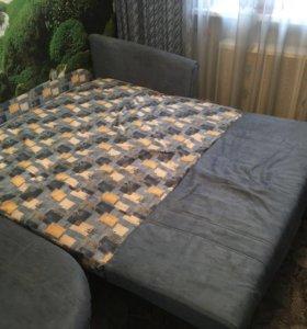 Угловой диван на дачу