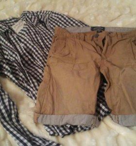 Шорты мужские и рубашка GLORIA JEANS