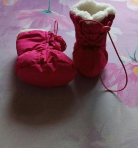 """Зимние ботинки на меху """"дутики"""""""