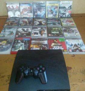 Playstation  slim 45 игр