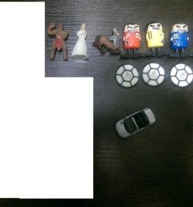 Игрушки из хлопьев Nestle,Nesquik,Космостарс