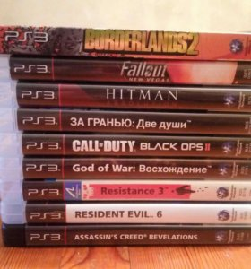 Диски для PlayStation3 PS3