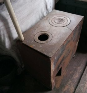 Печь железная для дома