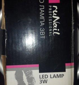 Продам LED лампу 3W