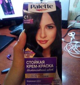 Краска для волос. Иссиня черный