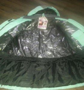 Горнолыжная зимняя куртка