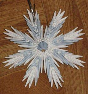 Снежинки для украшения