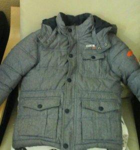 Куртка на мальчика зимняя.