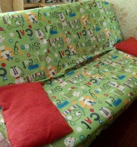 Яркий диван-кровать (с.м.190*120)