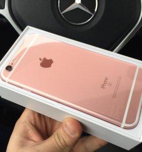iPhone 6s розовое золото, новый