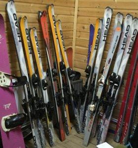 Горные лыжи, сноуборды и Горнолыжные башмаки