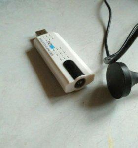 Тюнер DVB-T/T2 usb