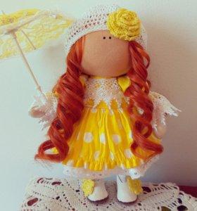 Кукла текстильная в стиле Татьяны Коне