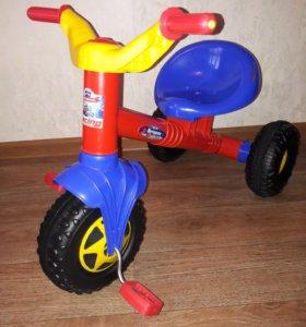 НОВЫЙ Велосипед трехколёсный