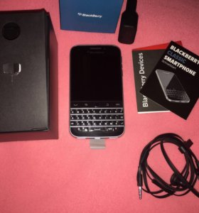 BlackBerry Classic SQC100-1 Black