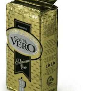 Кофе Vero Selezione oro, молотые зерна.