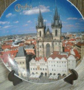 Тарелка Прага