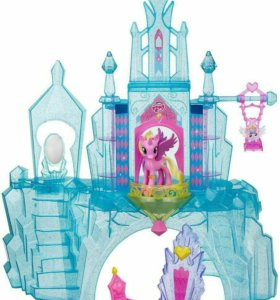 Кристальный замок для пони