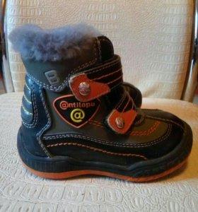 Детские зимние ботинки