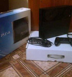 PlayStation 4 + аккаунт с играми