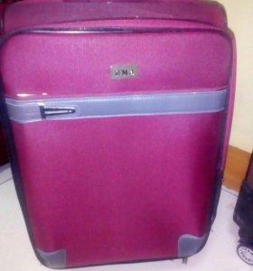 Багажная сумка розовая