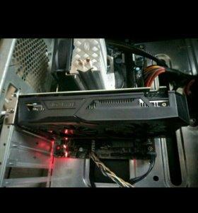 Игровой компьютер + монитор acer 19 дюймов