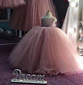 Платье для принцессы! Возраст 6-8 лет