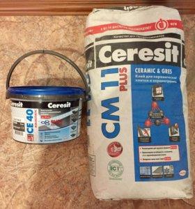 Плиточный клей и затирка Ceresit