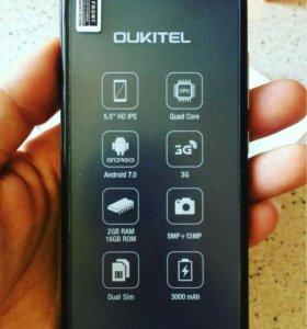 Oukitel c8(новый телефон)