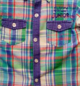 Рубашка на мальчика 4-5 лет(Турция)
